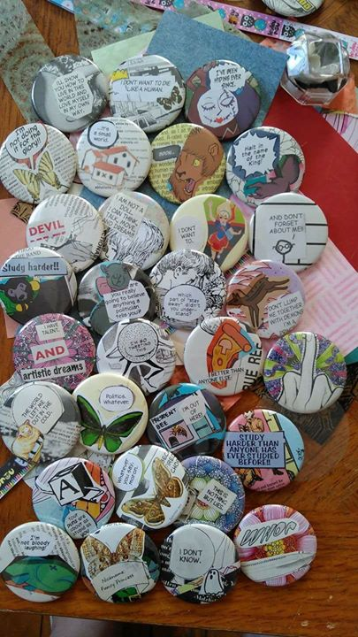 DIY Button Making at The Art House Cafe – ARTAWA CA
